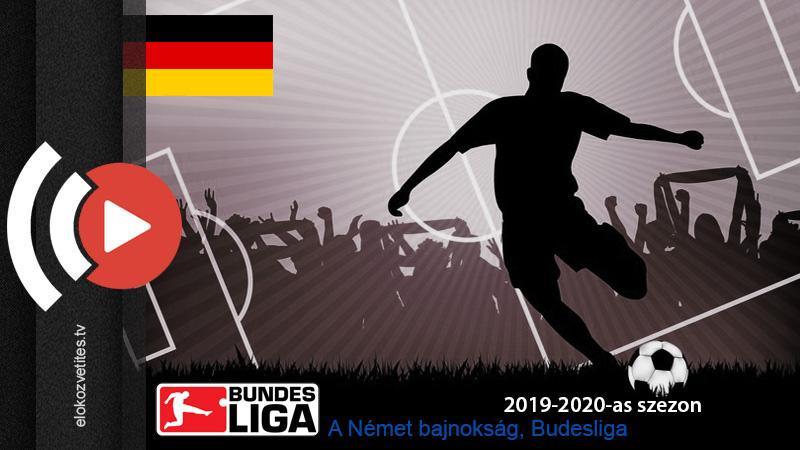 Német labdarúgó bajnokság Bundesiga élő közvetítése online stream Sport1 TV, Sport2 Televízió