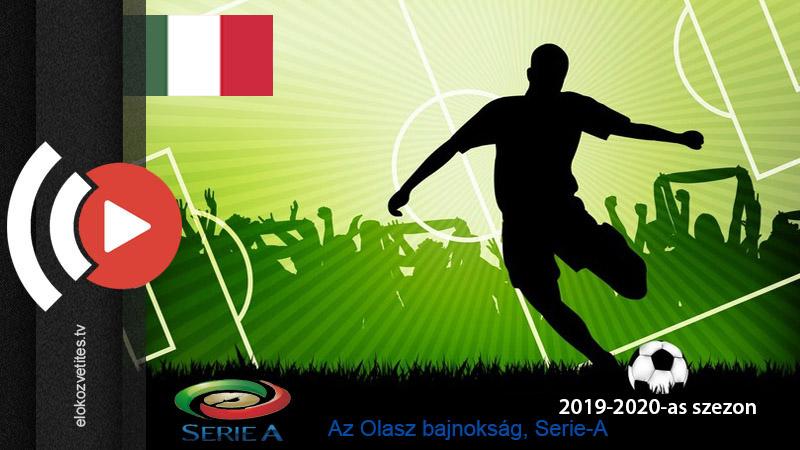 Olasz labdarúgó bajnokság Serie-A élő közvetítése online stream Digi Sport tv